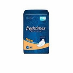 Feminine Pad Fresh Times Maxi with Wings Overnight Absorbency