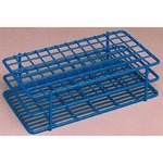 Fisherbrand Poxygrid  Test Tube Rack Fisherbrand Poxygrid 48 Place 16 mm Blue 9.5 x 3.38 x 2.5 Inch