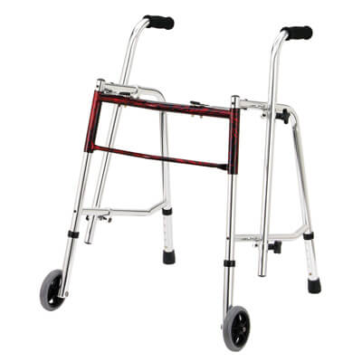 Drive Medical Flame Red Glider Walker 10219frd-1