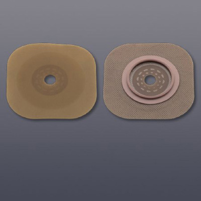 FlexTend Colostomy Barrier Cut-to-Fit, Extended Wear Without Tape 1-3/4 in Flange Green Code Hydrocolloid Up to 1-1/4 in Stoma