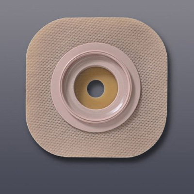 FlexTend Ostomy Barrier Trim to Fit, Extended Wear Without Tape 1-3/4 in Flange Green Code Up to 1 in Stoma