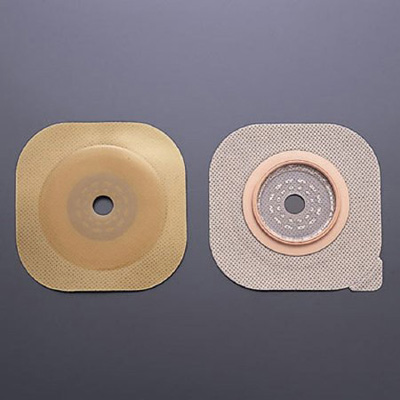 FlexWear Colostomy Barrier Cut-to-Fit, Standard Wear Without Tape 2-3/4 in Flange Blue Code Hydrocolloid Up to 2-1/4 in Stoma