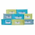 Cardinal Flushable Personal Wipe Soft Pack Sodium Benzoate / Aloe Unscented 42 Count - Case of 504
