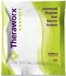 Flushable Personal Wipe TheraworxProtect Soft Pack Lavender Scent 2 Count
