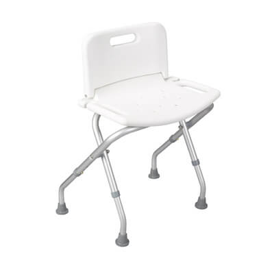Drive Medical Folding Bath Bench with Back 12487