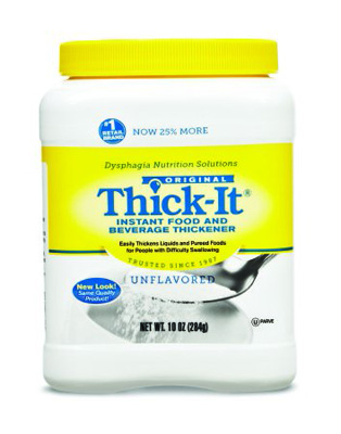 Food and Beverage Thickener Thick-It 10 oz. Canister Unflavored Ready to Use Varies By Preparation
