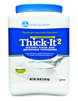 Food and Beverage Thickener Thick-It 2 36 oz. Canister Unflavored Ready to Use Varies By Preparation