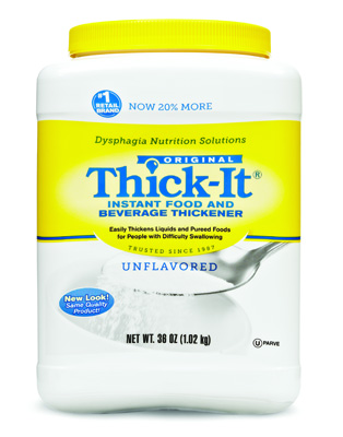 Food Thickener Thick-It 36 oz. Canister Unflavored Ready to Use Varies By Preparation