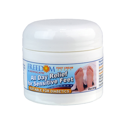 Freedom All Day Relief Foot Cream - Model: AD-422