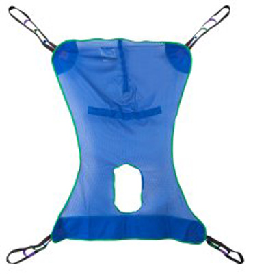 Full Body Commode Sling McKesson 4 or 6 Points Without Head Support Large 600 lbs