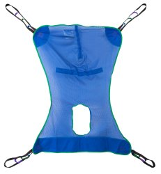 Full Body Commode Sling McKesson 4 or 6 Points Without Head Support X-Large 600 lbs
