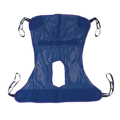 Drive Medical Full Body Patient Lift Sling with Commode Cutout 13221m