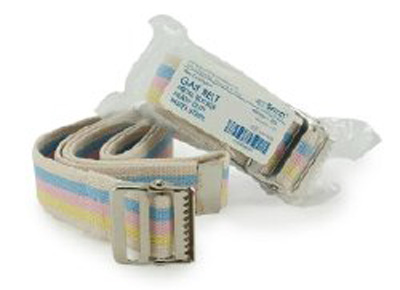 Gait Belt McKesson 60 Inch Pastel Stripes