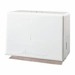 Georgia-Pacific Paper Towel Dispenser White Metal Manual 500 Count Wall Mount - case of 6