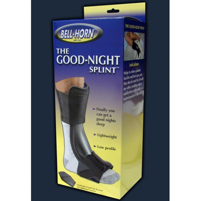Good Night Night Splint Large / X-Large Hook and Loop Closure Female Size 10 - 16 / Male Size 10.5 - 16 Left or Right Foot