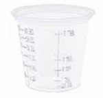 Conex Graduated Medicine Cup 1.25 oz. Translucent Plastic Disposable - Case of 2500