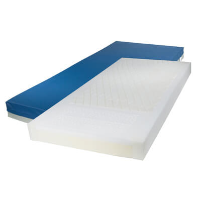 Drive Medical Gravity 7 Long Term Care Pressure Redistribution Mattress with Elevated Perimeter Model 15877