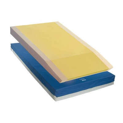 Drive Medical Gravity 9 Long Term Care Pressure Redistribution Mattress with Elevated Perimeter 15997