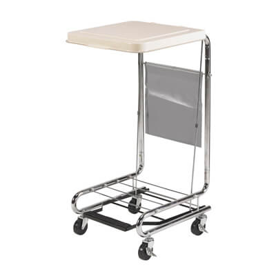 Drive Medical Hamper Stand with Poly Coated Steel Model 13070