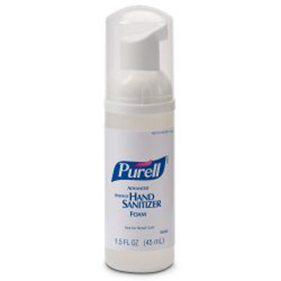 Hand Sanitizer Purell 45 mL Alcohol (Ethyl) Foaming Pump Bottle