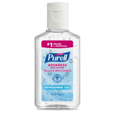 Hand Sanitizer Purell Advanced 1 oz. Alcohol (Ethyl) Gel Bottle