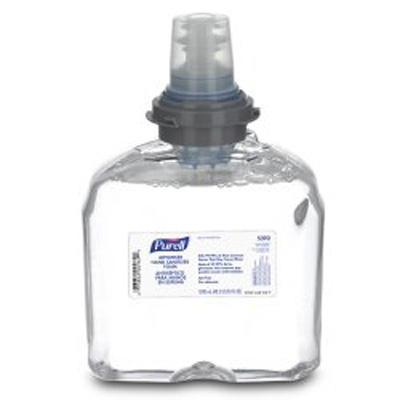 Hand Sanitizer Purell Advanced 1200 mL Alcohol (Ethyl) Foaming Dispenser Refill Bottle - 5392-02