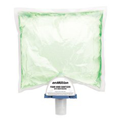 EnMotion Hand Sanitizer with Aloe 1000 mL Alcohol (Ethyl) Foaming Dispenser Refill Bag - Case of 2