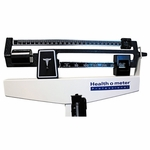 Health O Meter Floor Scale Balance Beam 500 lbs.