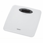 Health O Meter Floor Scale Digital 440 lbs. White (2) 3-Volt Lithium Batteries (Included)