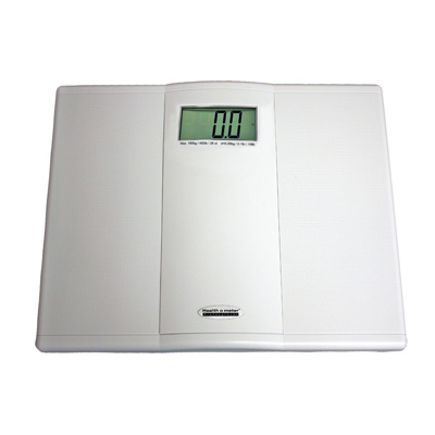 Health O Meter Floor Scale Digital 550 lbs. 2 AAA Batteries - Included