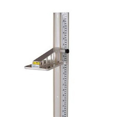 Health O Meter Height Rod Wall Mount, Lightweight Model 402 Series Scale