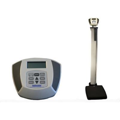 Health O Meter Physician Electronic Scale with Rod Digital 600 lbs