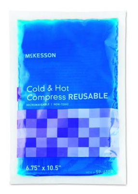 Hot / Cold Pack McKesson Large Reusable 6.75 X 10-1/2 Inch