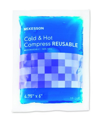 Hot / Cold Pack McKesson Small Reusable 4.75 X 6 Inch