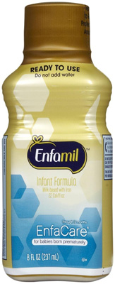 Infant Formula Enfamil EnfaCare 8 oz. Bottle Ready to Use