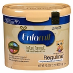 Enfamil Reguline 12.4 oz. Canister Powder Infant Formula - Case of 6