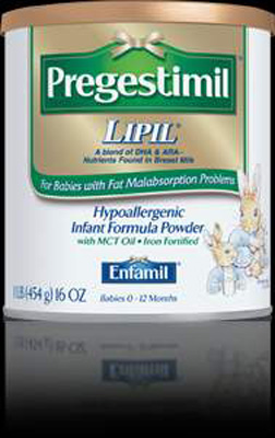 Infant Formula Pregestimil Lipil 2 oz. Bottle Ready to Use