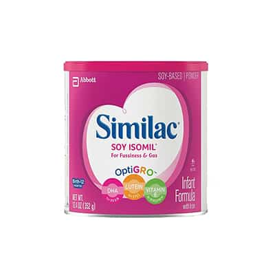 Infant Formula Similac Soy Isomil 12.4 oz. Can Powder
