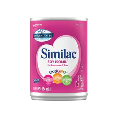 Infant Formula Similac Soy Isomil 20 13 oz. Can Concentrate