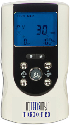 Roscoe Medical InTENSity Micro Combo TENS Unit and Micro Unit with AC Adapter