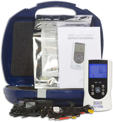 Roscoe Medical InTENSity Select Combo TENS, Muscle Stimulator, IF and Micro Current