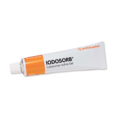 Iodosorb Antimicrobial Gel, 40 gm