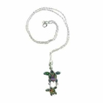 Island Sense Abalone Shell Sea Turtles Necklace