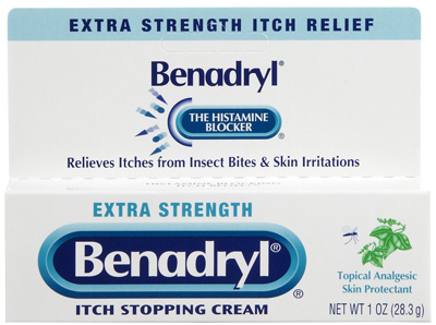 Benadryl Itch Relief 2% / 0.1% Strength Cream 1 oz. Tube - 10312547171622 - Case of 24