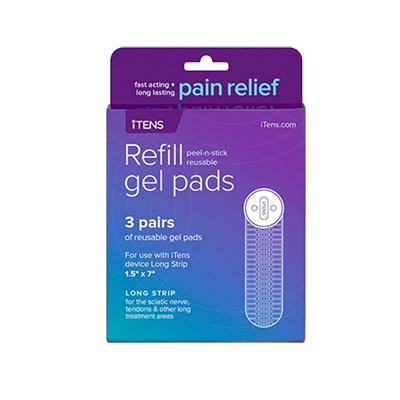 iTENS - TENS Unit replacement Long Strip Gel
