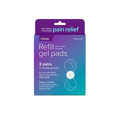 iTENS - TENS Unit replacement Small Wing Gel