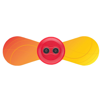 iTENS - Replacement Small Wings Electrodes - Orange