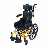 Drive Medical Kanga TS Pediatric Tilt In Space Wheelchair 10 inch
