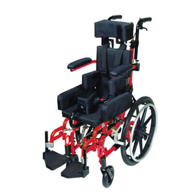 Drive Medical Kanga TS Pediatric Tilt In Space Wheelchair 12 inch