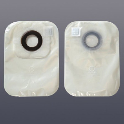Karaya 5 Colostomy Pouch One-Piece System 12 in Length 1-3/8 in Stoma Closed End